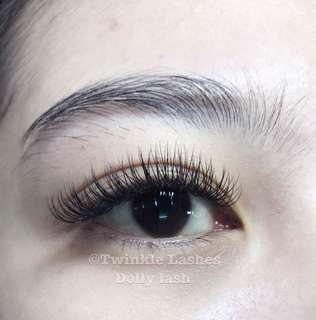 Dolly twinkle lashes