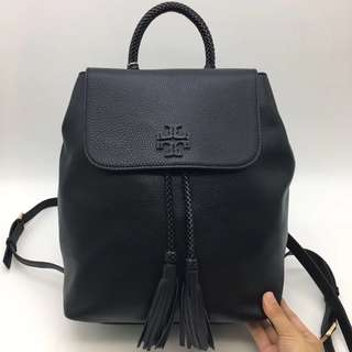 Tory Burch Leather Taylor Backpack Black