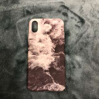 iPhone X ocean case