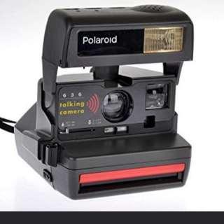 Polaroid 636 Instant Camera