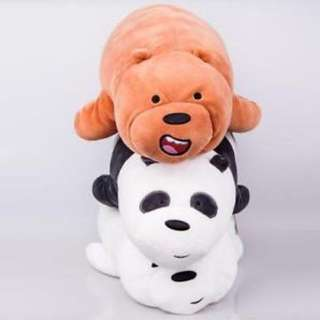 We Bare Bears Miniso Plushie (Grizz Only)