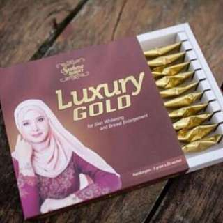 Syahera beauty luxury gold