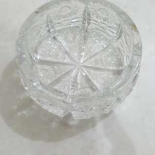 Asbak kristal bohemia