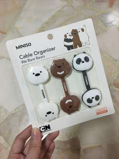 We Bare Bears cable organiser