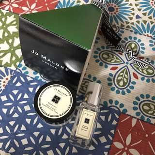 Jo Malone body cream with perfume limited edition 香水