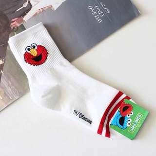 Elmo Socks (size : 35-40)