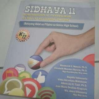 Sidhaya book, filipino 11