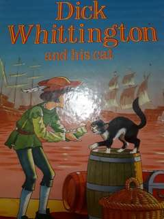 Giving away storybook: Dick Whittington and his cat(Pending collection)