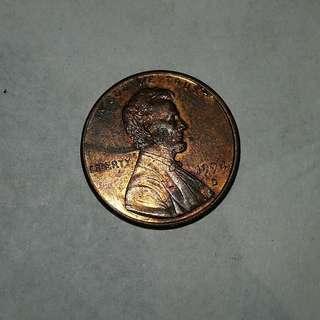 USA 1994 d 1¢ coin