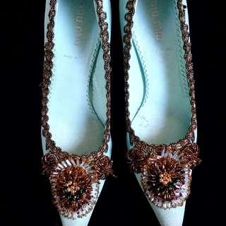 Original Miu Miu Beaded Heels