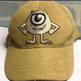 怪獸公司 迪士尼 大眼仔 刺繡帽 monster disney 帽