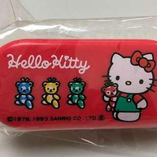 舊版全新日本製Hello Kitty紅色梳 1993版