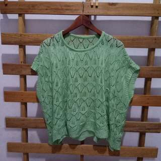 Knit woman top