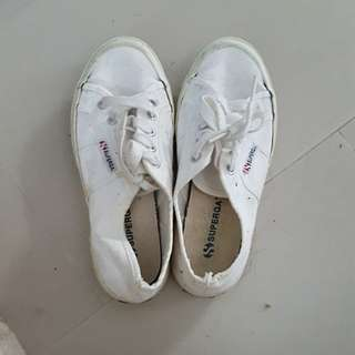 Authentic Superga White sneakers