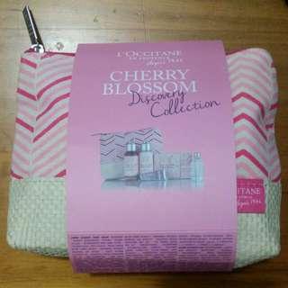 New L'Occitane Cherry Blossom Set