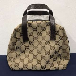 Gucci Small Canvas Tote