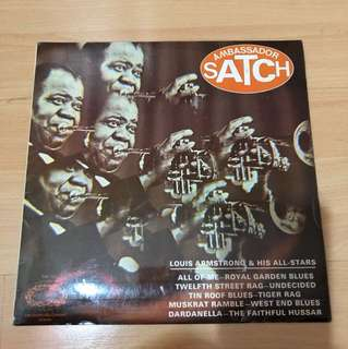 Louis Armstrong lp