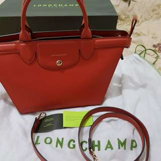 Authentic Longchamp Le Pliage Heritage (Terracota)