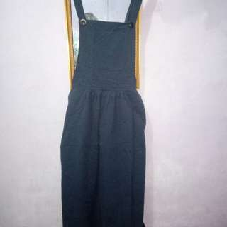 Overall navy ALL SIZE