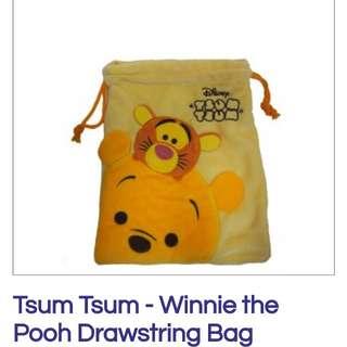 Winnie The Pooh Drawstring Bag