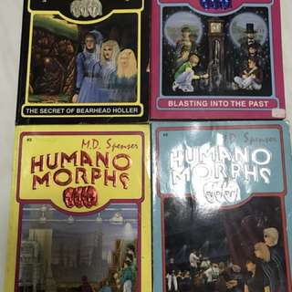 Mr Midnight and Humano Morphs book