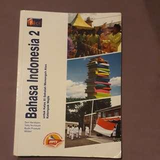 Buku bahasa indonesia untuk kelas 2 sma #UBL2018