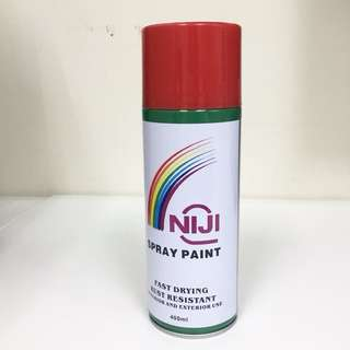 Niji Spray Paint Fire Red