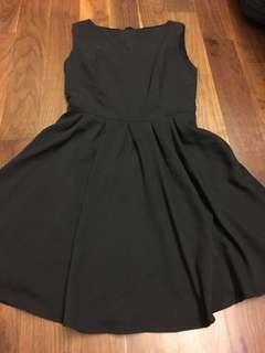 Boat Neck Black Dress Get5Free1 T&Cs