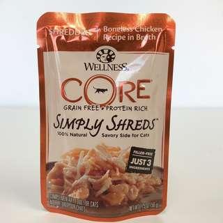 Wellness Core Simply Shreds – Shredded Boneless Chicken in Broth