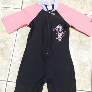 baju renang anak branded merk by arena  swimsuit  5th swim suit balita pakaian renang pink