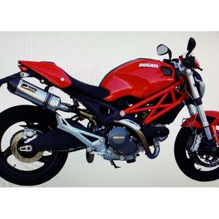 Devil Exhaust Systems Singapore Ducati Monster 696 2008 - 2014 Ready Stock ! Promo ! Do Not PM ! Kindly Call Us !