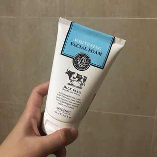 Beauty Buffet Scentio Milk Plus Q10 Whitening Facial Foam 100ml/ 3.4oz