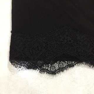 Rok span hitam - black skirt