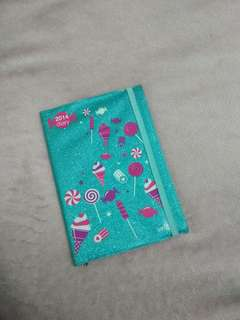 DIARY BOOK GLITTER CANDY POP