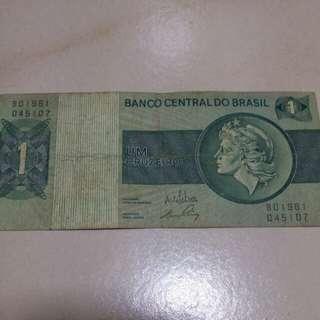 Brazil brazilian notes 1970-72