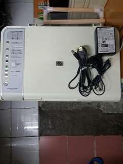 9037 HP Deckjet F4280 All-in-one $20