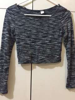 H&M Crop Top Longsleeves