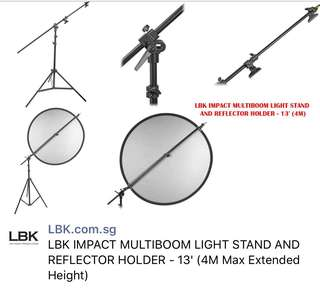 Impact Multiboom Light Stand & Reflector Holder