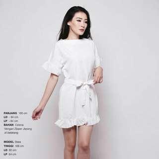 Rakugo Ruffle dress
