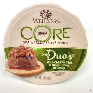 Wellness Core – Divine Duos Chicken and Turkey Canned Cat Food