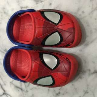 Crocs Spider-Man Shoes C8 (measure your baby's feet)