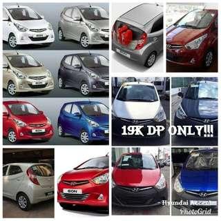 Hyundai cars on promo