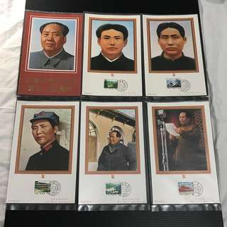 China Stamp - 纪念毛泽东同志诞生一百周年 邮卡 Booklet 中国邮票