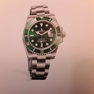 Submariner Date (Green Hawk)