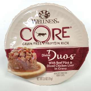 Wellness Core – Divine Duos Beef and Chicken Liver Canned Cat Food
