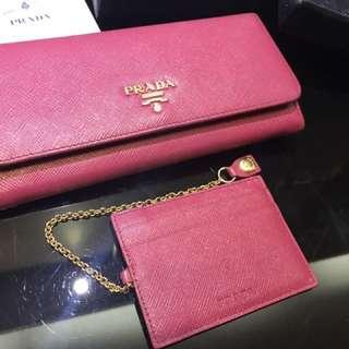 Prada wallet 銀包
