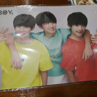 TF boys poster set (8pieces)