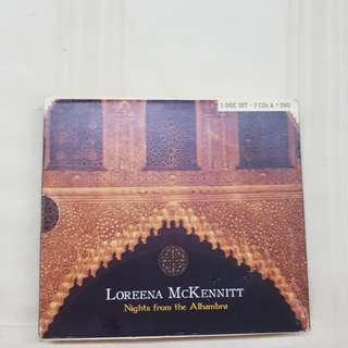 Nights from the Alhambra by Loreena McKennitt (2 CD + DVD)