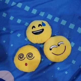 Emoji small toy/ phone key chain