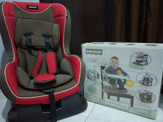Car Seat Baby Does CH 860 & Booster Seat